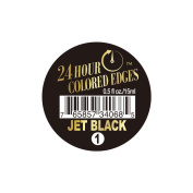 24 Hour Coloured Edges #1 Jet Black 0.5oz/15ml + 1 Free Sample