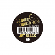 24 Hour Coloured Edges #1 Jet Black 0.5oz/15ml + 1 Free Sample