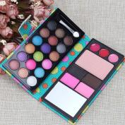 VANKER Elegant 36 Natural, Smoky, Ultra Colour Eyeshadow Pro Makeup kit Cute Case,Blue
