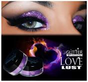 GlitterWarehouse Holographic Glitter for Eyeshadow / Eye Shadow Shimmer Makeup Lavender - Love Lust