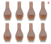 (Pack of 8) - VALUE PACK!! - Maybelline New York Dream Wonder Fluid-Touch Foundation, 85 Sun Beige - 20ml / 0.67 Fluid Ounce