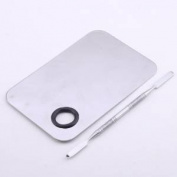 Blazers18 Professional Lady Stainless Steel Makeup Cosmetic Palette Spatula Tool-150x100MM