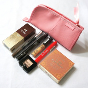 Mixed Makeup Kit with a Pink Stand Up Pouch 8 Korean Makeup Products in One VALUE SET