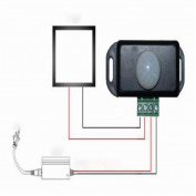 Tuscom Automatic DC 12V-24V 8A Infrared PIR Motion Sensor Switch For LED light