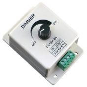 Tuscom 12V 8A PIR Sensor LED Strip Light Switch Dimmer Brightness Adjustable Controller