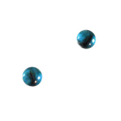 6mm Small Glass Eyes Blue Koala Bear Pair Taxidermy Sculptures or Jewellery Making Crafts Set of 2