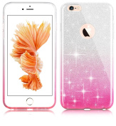 iPhone 5/5s/se Bling Crystal 3 in 1 Case-Auroralove iPhone Se Beauty Fashion 3 layers Hybrid Bumper Cover [PC Case+Shiny layer+TPU Cover] for iPhone 5/5s