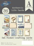 Authentique Paper EXP018 Explore Authentic Life Card