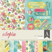 Authentique Paper UTP010 Utopia Collection Kit