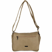Antonio Women's Shoulder Bag Multicolour Taupe