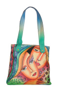 Niarvi Women's Top-Handle Bag green multi-coloured