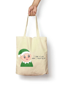 I Touch My Elf - Canvas Tote Bag