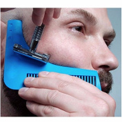 Beard Shaping Tool for Perfect Lines & Symmetry,Beard Styling and Shaping Template Comb Tool