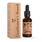 The Gentlemen's Premium Beard Oil And Conditioner - Cedarwood Scent – Smooth Out And Soften Your Beard – For A Beard That Looks Shiny And Healthy With No Greasy Residue