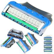 8X Man's Shaving Razor Refills Cartridge Blades 5 layer for Gillette Fusion