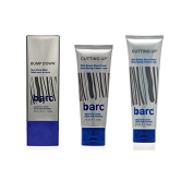 Barc Cutting Up, Unscented Shave Cream, 60ml + Barc Cutting Up, Unscented Shave Cream, 180ml + Barc Bump Down Razor Bump Relief, Alcohol-Free, Unscented Lotion, 100ml