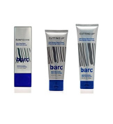 Barc Cutting Up, Unscented Shave Cream, 60ml + Barc Cutting Up, Unscented Shave Cream, 180ml + Barc Bump Down Razor Bump Relief, Alcohol-Free, Unscented Lotion, 50ml