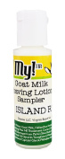 O My! Island Rum Goat Milk After-Shave Lotion Sampler .150ml