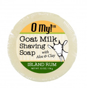 O My! Island Rum Goat Milk Shaving Soap - 160ml