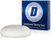 Defence Soap Sandalwood Shaving Soap 100ml Bar with Aloe Vera, Cocoa Butter, Tea Tree Oil and Eucalyptus Oils