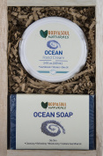 Ocean Hand Cream + 2 Natural Soaps - From the Ocean Bath and Body Holiday Gift Set