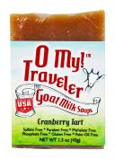 O My! Cranberry Tart Goat Milk Travellers Soap