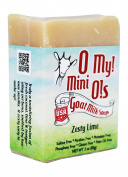 O My! Zesty Lime Goat Milk Mini O! Soap - 90ml
