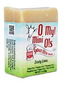 O My! Zesty Lime Goat Milk Mini O! Soap - 90ml