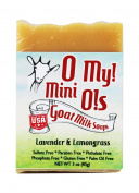 O My! Lavender and Lemongrass Goat Milk Mini O! Soap - 90ml