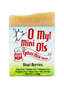 O My! Kiwi Berries Goat Milk Mini O! Soap - 90ml