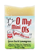 O My! Green Tea and Lemongrass Goat Milk Mini O! Soap - 90ml