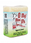 O My! Apple & Clover Goat Milk Mini O! Soap - 90ml