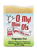 O My! Fragrance Free Goat Milk Mini O! Soap - 90ml