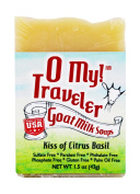 O My! Kiss of Citrus Basil Goat Milk Traveller Soaps