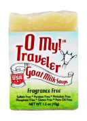O My! Fragrance Free Goat Milk Traveller Soaps