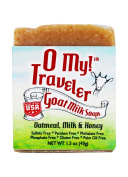 O My! Oatmeal, Milk & Honey Goat Milk Traveller Soaps