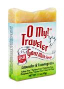 O My! Lavender and Lemongrass Goat Milk Traveller Soaps