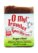 O My! Dragons Blood Goat Milk Traveller Soaps