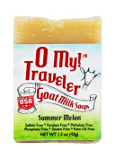 O My! Summer Melon Goat Milk Traveller Soaps