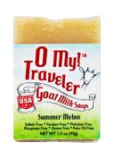 O My! Summer Melon Goat Milk Traveller Soaps
