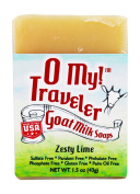 O My! Zesty Lime Goat Milk Traveller Soaps
