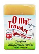 O My! Zesty Lime Goat Milk Traveller Soaps