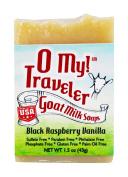 O My! Black Raspberry Vanilla Goat Milk Traveller Soaps