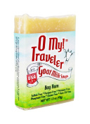 O My! Bay Rum Goat Milk Traveller Soaps