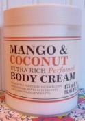Creightons Ultra Rich Perfumed Body Cream, Mango & Coconut, 470ml