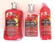 April Vanilla Red Apple Scented Set - Shower Gel, Body Lotion + Body Splash Spray