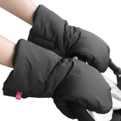 Gembaby Extra Thick Winter Waterproof Anti-freeze Baby Stroller Glove Hand Muff,Hand Protector Mitts