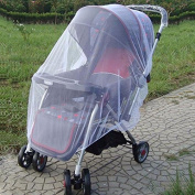 Design61 Universal Pram Cover Insect Mosk Itonet Mosquito Net White
