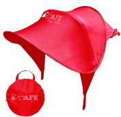 iSafe Sun Shade Maker - Red For Hauck Shopper Comfortfold Stroller