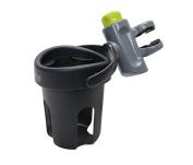 Self Adjusting Cup Holder - Brica Drink Pod, Grey